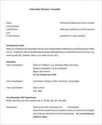It Intern Resume Fabulous It Intern Resume Template for Your 100 Marketing Internship 24