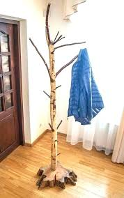 Coat Tree Rack Inspiration Diy Coat Tree How To Build A Coat Tree Stand Up Coat Rack Free