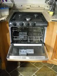 the larger profile of the dishwasher from edgestar the reported all in costs of this rv mod excluding labor was 450 and took one day to complete