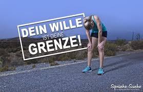 Sport Motivation Dein Wille Ist Deine Grenze Sprüche