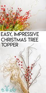 easy diy tree topper