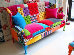 Patchwork Colorful Sofa