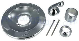delta shower knobs chrome tub shower trim kit with metal lever handle for delta delta shower