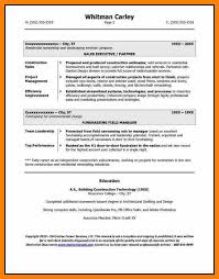 9 Construction Company Resume Hr Cover Letter