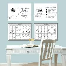 dry erase wall decals 4 piece dry erase calendar whiteboard wall decal set roommates scroll dry dry erase wall decals