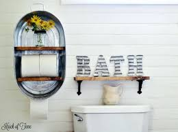 rustic bathroom shelf these ideas will inspired your own home decor remodel wood beam shelves rustic bathroom