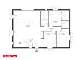 Plan De Maison 100m2 3 Chambres