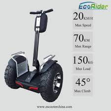 E8-2 Brushless Motor Off Road Segway, Double 633WH Samsung ...