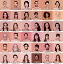 Spanish Artist Classifies Human Skin Tones With Pantone