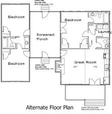 dog trot house plans. Mx F1alternate 3 Bedroom Dog Trot House Plan Plans O