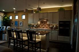 wonderful kitchen decoration using led lighting strips magnificent kitchen decoration with led lighting strips kitchen