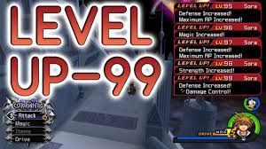 Best Way To Level Up To 99 In Kingdom Hearts 2 Kh2fm