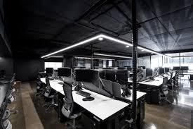 Office modern design Cool Hillam Office Modern Industrial Vibe Homedit Modern Architecture Office Promotes Taskoriented Design