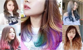 ไฮไลทปลายผมใหมสสนกบ Dip Dye Hair แฟชนสผมทฮอตฮต