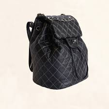 Lambskin Quilted-Stiched Backpack | Small - The-Collectory & Chanel | Lambskin Quilted-Stiched Backpack | Small - The-Collectory Adamdwight.com