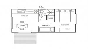 Marvelous Small Cabin Plans 1 Bedroom One Bedroom Cabin Plans One 1 Bedroom Floor  Plan With Dimensions