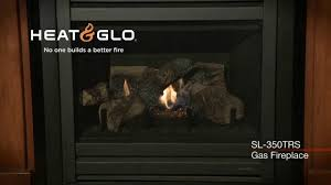 heat glo slimline sl 350trs gas fireplace