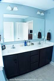 diy bathroom mirror frame. Diy Frame Bathroom Mirror Molding