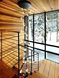 stairwell pendant lights staircase lighting extra long hanging lamp stairway home crystal ball project ideas stairwell pendant lights