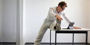 thigh toning exercises at your desk