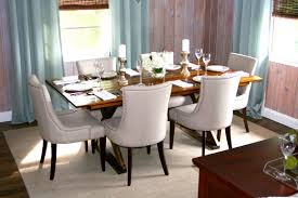 fabric dining chairs stacy light grey set room designs material for dining room fabric chairs