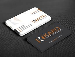 entry 56 for design some business cards for flooring company