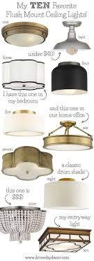 best bedroom lighting. LOVE These Flush Mount Ceiling Light - Great Choices For Your Bedrooms, Kitchen, Family Best Bedroom Lighting