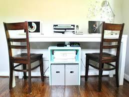 office desk for two. Two Person Work Desk Home Office Brilliant 2 Ideas Fantastic Design Inside For E