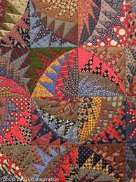 Quilt Inspiration: Necktie quilts for Dad & We loved Virginia's selection of patterns and colors, with the primary red,  yellow and blue hues dominating. For the design she used the