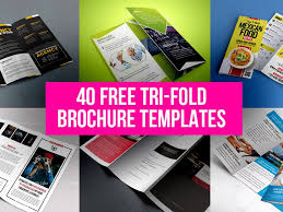 Foldable Brochure Template Free 40 Free Tri Fold Brochure Templates By Graphicsfuel Rafi