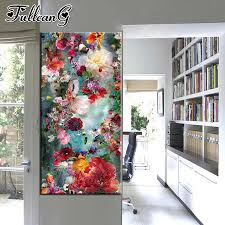 "<b>FULLCANG</b> full square drill <b>diamond embroidery</b> ""flamingo & flowers ..."
