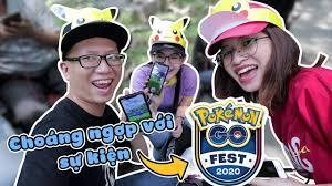 Event GO Fest 2020 choáng ngợp và vui đến mức này sao Pokemon GO vlog -  YouTube