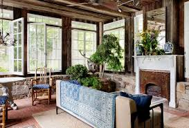 houzz ceiling fans. Allen Roth Ceiling Fan Sunroom Farmhouse With Chandelier My Houzz Stone Wall Fans N