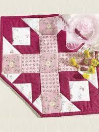 Hexagon Star Quilt Pattern Free hexagon star quilted candle mat ... & Hexagon Star Quilt Pattern Free hexagon star quilted candle mat free pattern Adamdwight.com