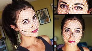 wonder woman ic book makeup how to do pop art makeup of wonder woman ic book