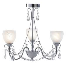 crawford 3 light bathroom chandelier with alabaster glass shades
