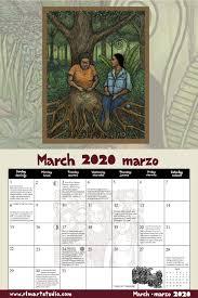 2020 Ricardo Levins Morales Liberation Calendar