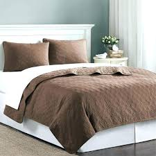 comforter and coverlet set chocolate brown velvet touch twin quilt bedding quilts king size cover sets