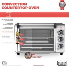 clean your oven door naturally with no scrubbing black decker to3000g 6 slice 1500w convection toaster oven silver