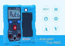 Купить <b>ZOYI ZT</b>-<b>S1</b> Автоматический цифровой <b>мультиметр</b> NCV ...