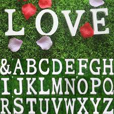 26 large wooden letters alphabet wall