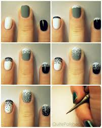 Easy Fall Nail Designs For Beginners 25 Simple Nail Art Tutorials For Beginners