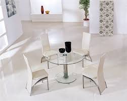 small glass dining table. Planet Black Round Glass Dining Table With Ashley Chairs. Enlarge Small G