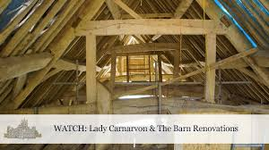 Barn Renovations Lady Carnarvon The Barn Renovations Youtube