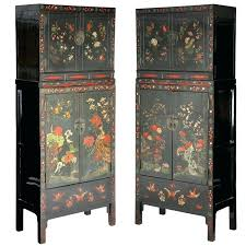 how to paint lacquered furniture. How To Paint Over Lacquer Furniture Antique Pair Painted 2 Part Compound Cabinets . Lacquered O