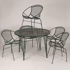 antique helper metal patio chairs