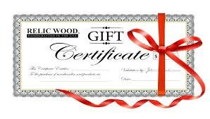 Buy Blank Gift Certificates Tsurukame Co
