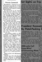 Idaho State Journal from Pocatello, Idaho on March 6, 1961 · Page 3