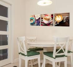 Cafe Latte Kitchen Decor Coffee Theme Espresso Paris Cafe Bistro Canvas Pictures Home Decor