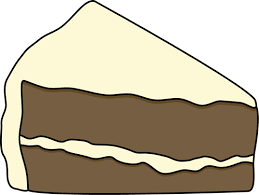 piece of chocolate cake clipart. Contemporary Chocolate Slice Of Chocolate Cake With White Frosting And Piece Of Clipart C